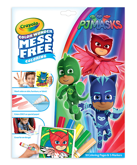 PJ Masks Mess-Free Color Wonder Set