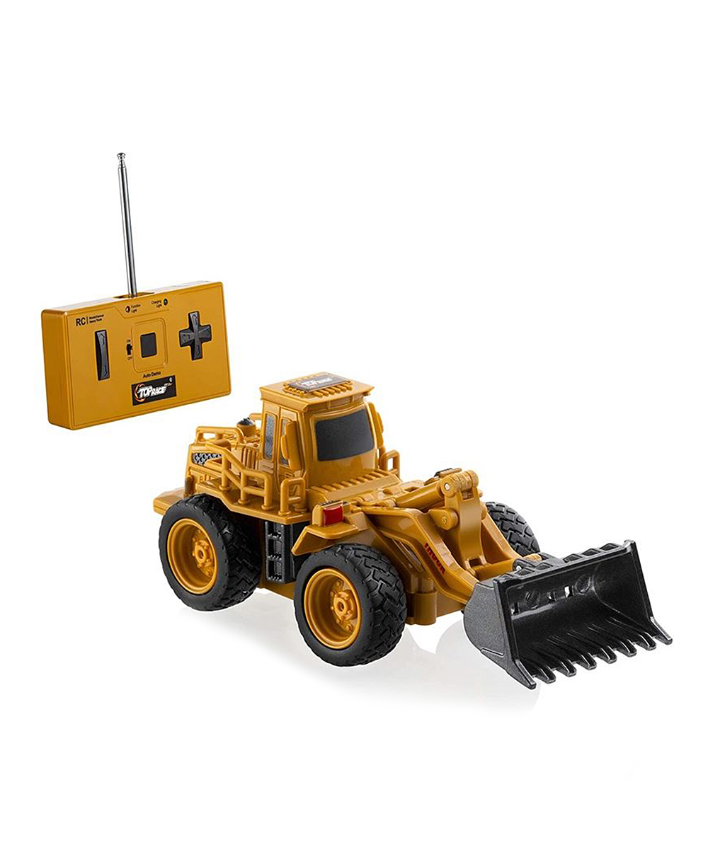 Top Race  Remote Control Toys  - Front-Loading Bulldozer Four-Channel Remote Control Toy