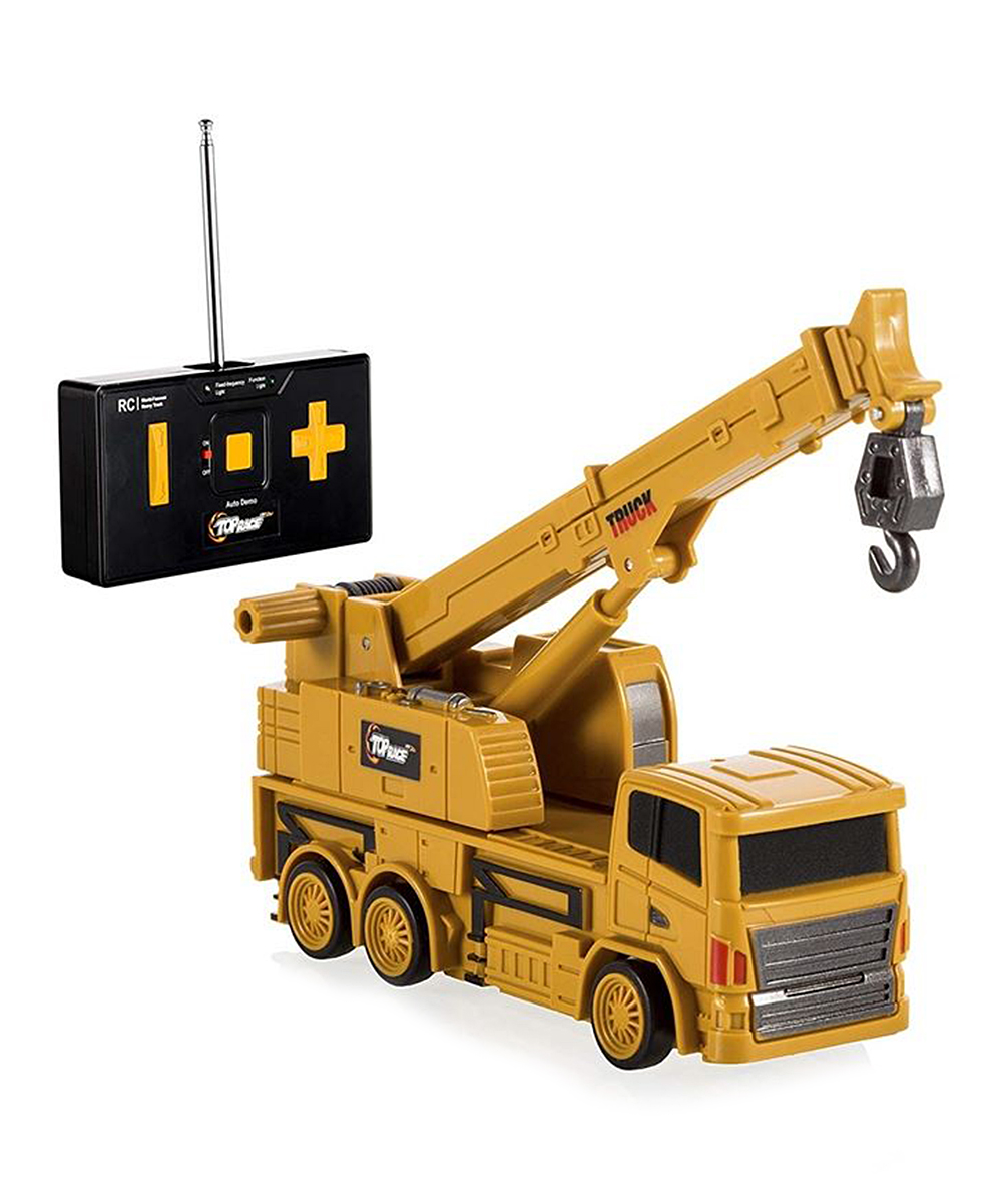 Top Race  Remote Control Toys  - TR-018 Control-Drill Excavator Four-Channel Remote Control Toy