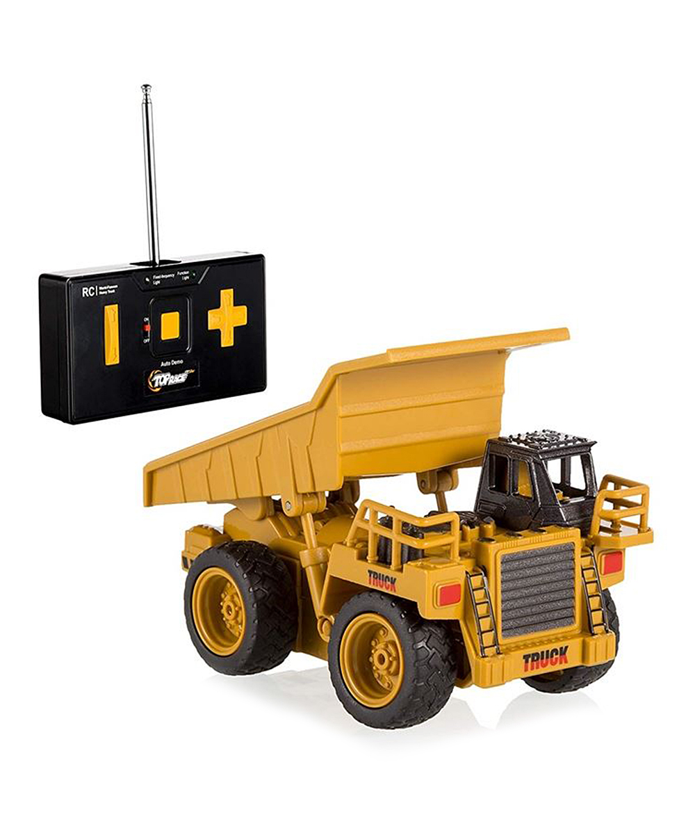 Top Race  Remote Control Toys  - Dump Truck Four-Channel Remote Control Toy