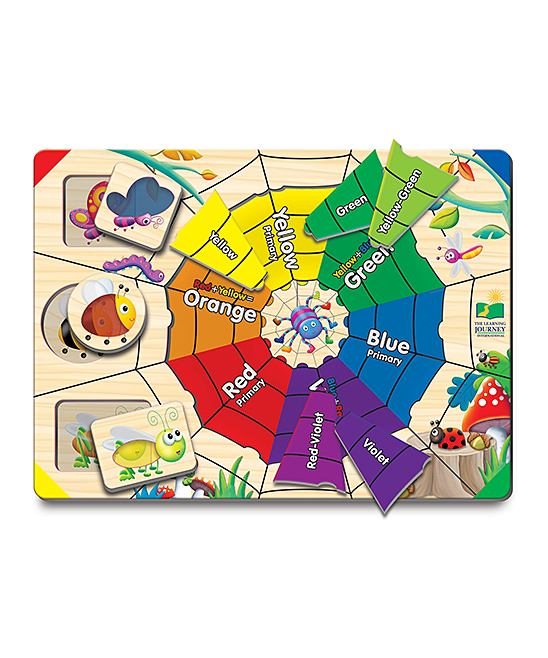 The Learning Journey  Developmental Toys  - Lift & Learn Color Web Educational Toy