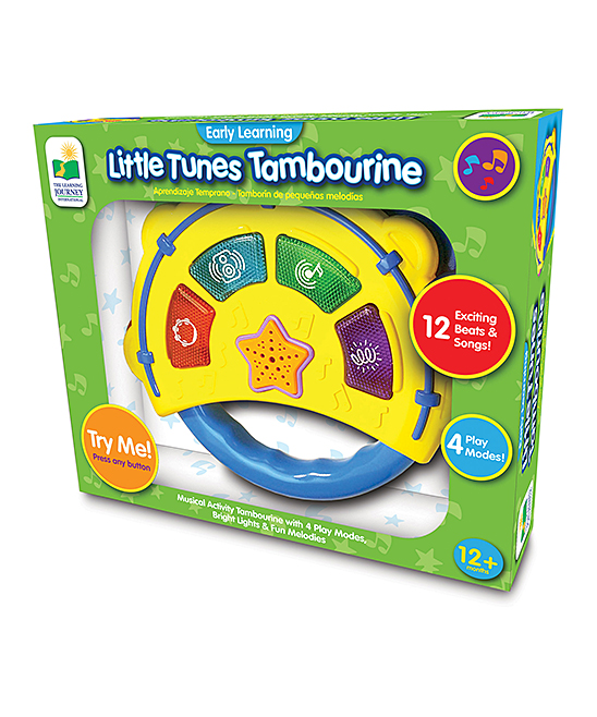 The Learning Journey  Developmental Toys  - Little Tunes Tambourine Educational Toy