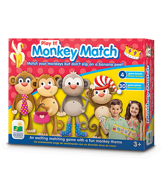 The Learning Journey  Developmental Toys  - Play It! Game - Who's Your Monkey Educational Toy