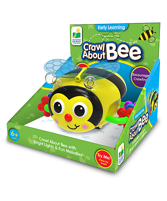 The Learning Journey  Developmental Toys  - Crawl About Bee Educational Toy