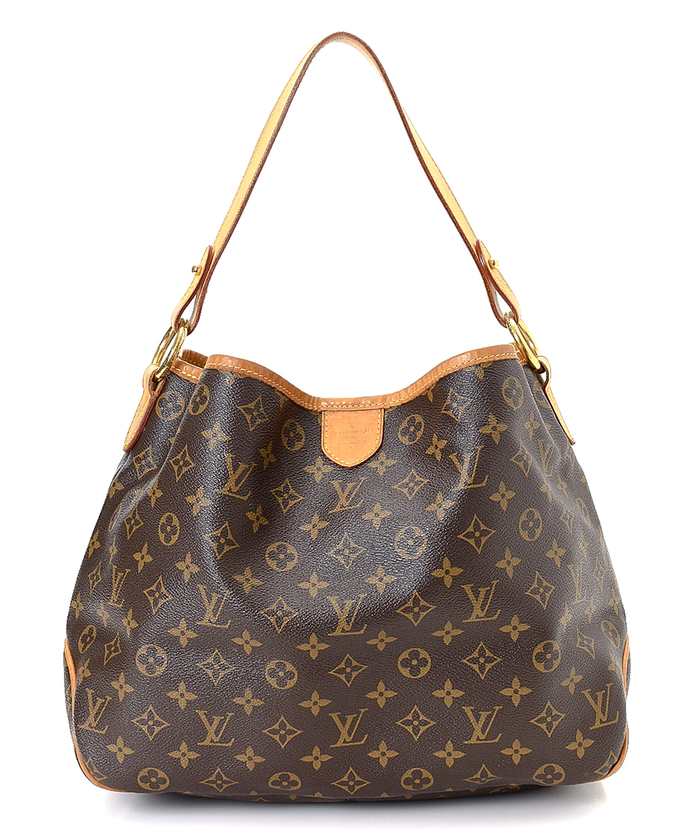 ce956b356b4 Louis Vuitton Pre-Owned Brown Monogram Delightful PM Canvas Shoulder Bag