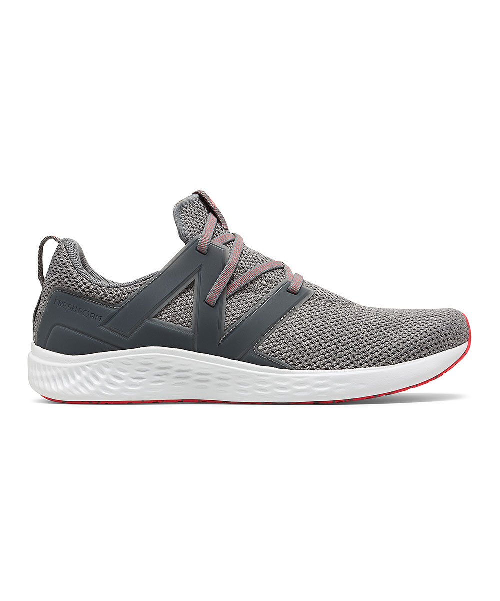 New Balance Men's Sneakers GUNMETAL - Vero Sport SlipOn Men's Running Shoes - Men