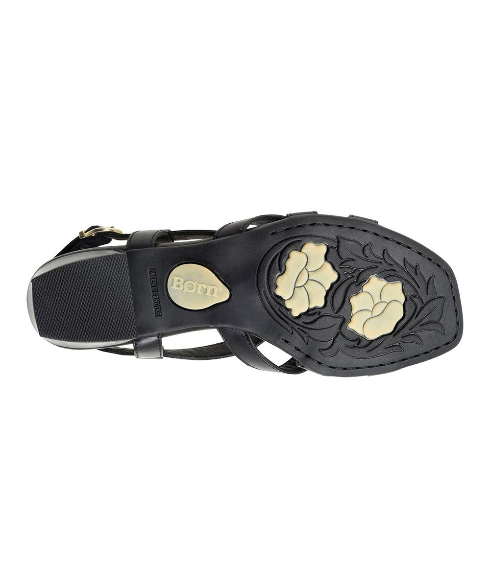 4cd4caa9c49a ... Womens EASY BLACK F Easy Black Bouvet Leather Sandal - Alternate Image 5