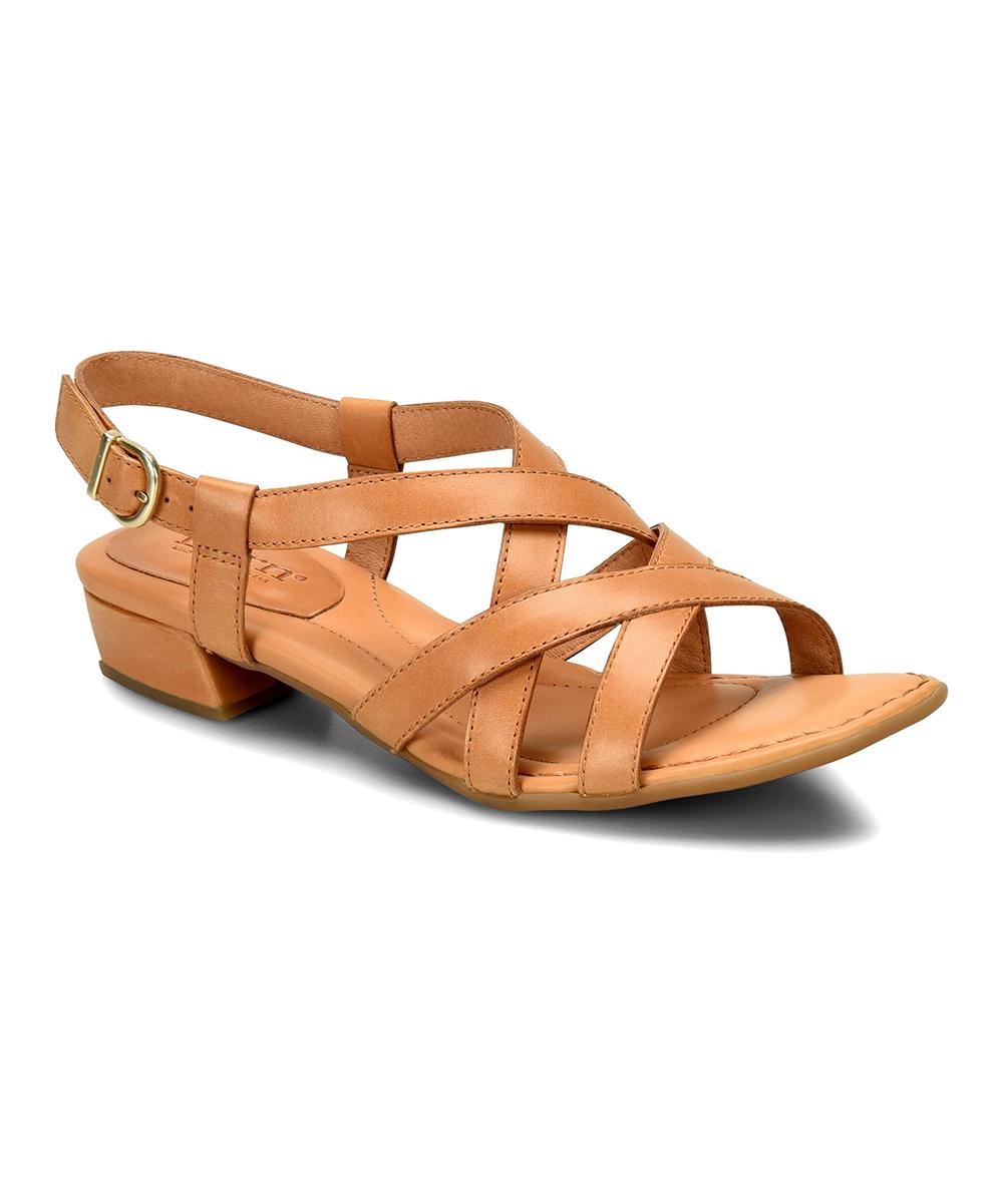 22138bb38944 Børn Easy Tan Bouvet Leather Sandal - Women