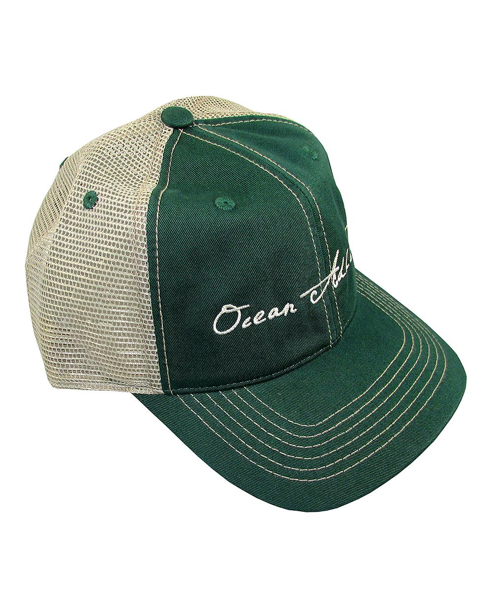 b0ec20750 Ocean Addict Green 'Ocean Addict' Trucker Hat