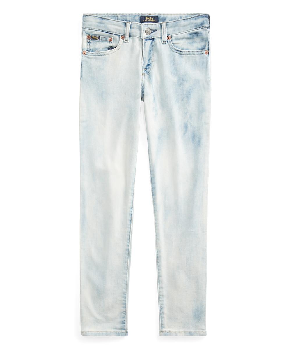 8e0d71e73d Polo Ralph Lauren Warner Wash Tompkins Skinny Jeans - Girls