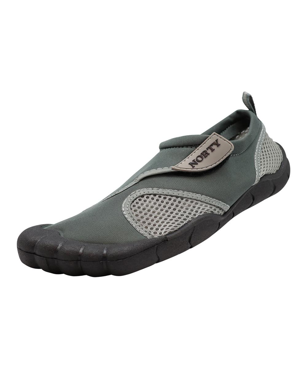 Norty Men's Water shoes GREY - Gray Water Shoe - Men