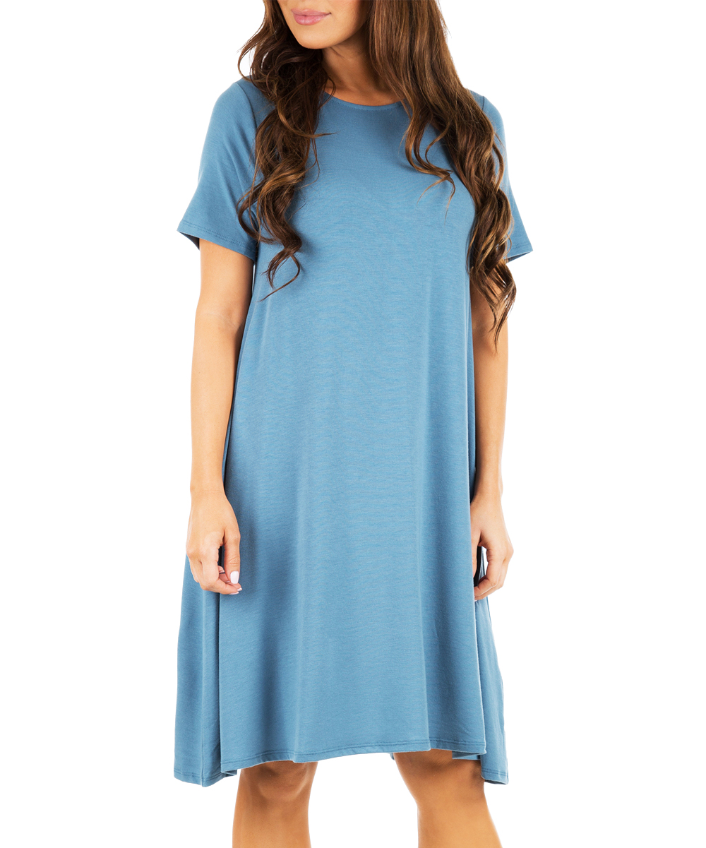 Titanium Pocket T-Shirt Dress - Women & Plus