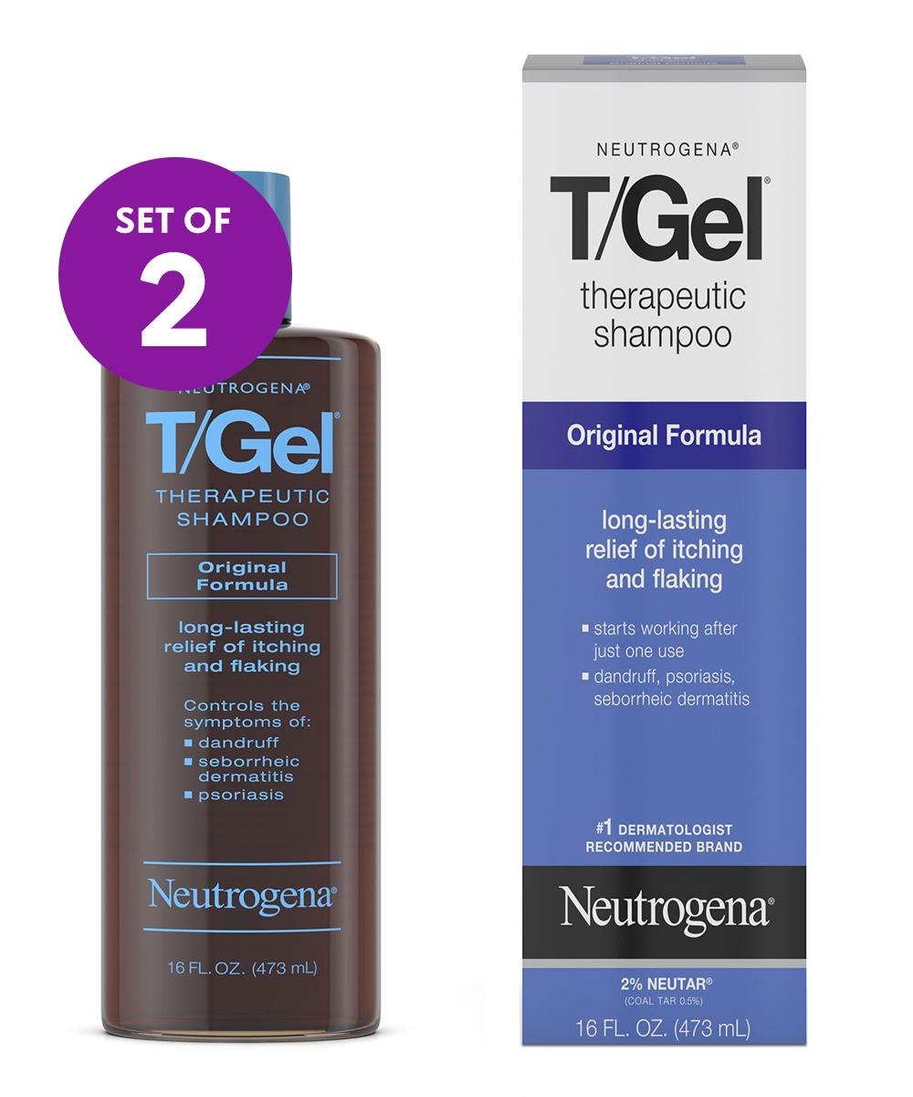 Neutrogena® T/Gel Original Formula 16-Oz  Therapeutic Shampoo - Set of 2