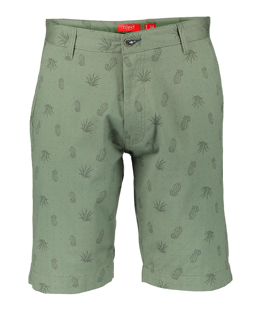 15c42e59eaf5 Bruno Milano Light Olive Cactus Bermuda Shorts - Men & Big | Zulily