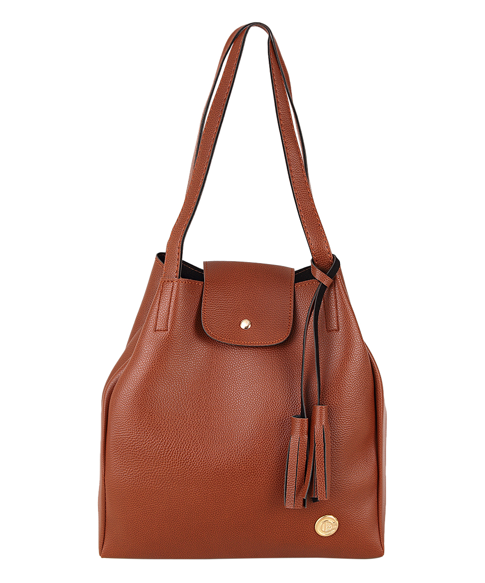 Brown Tassel Shoulder Bag