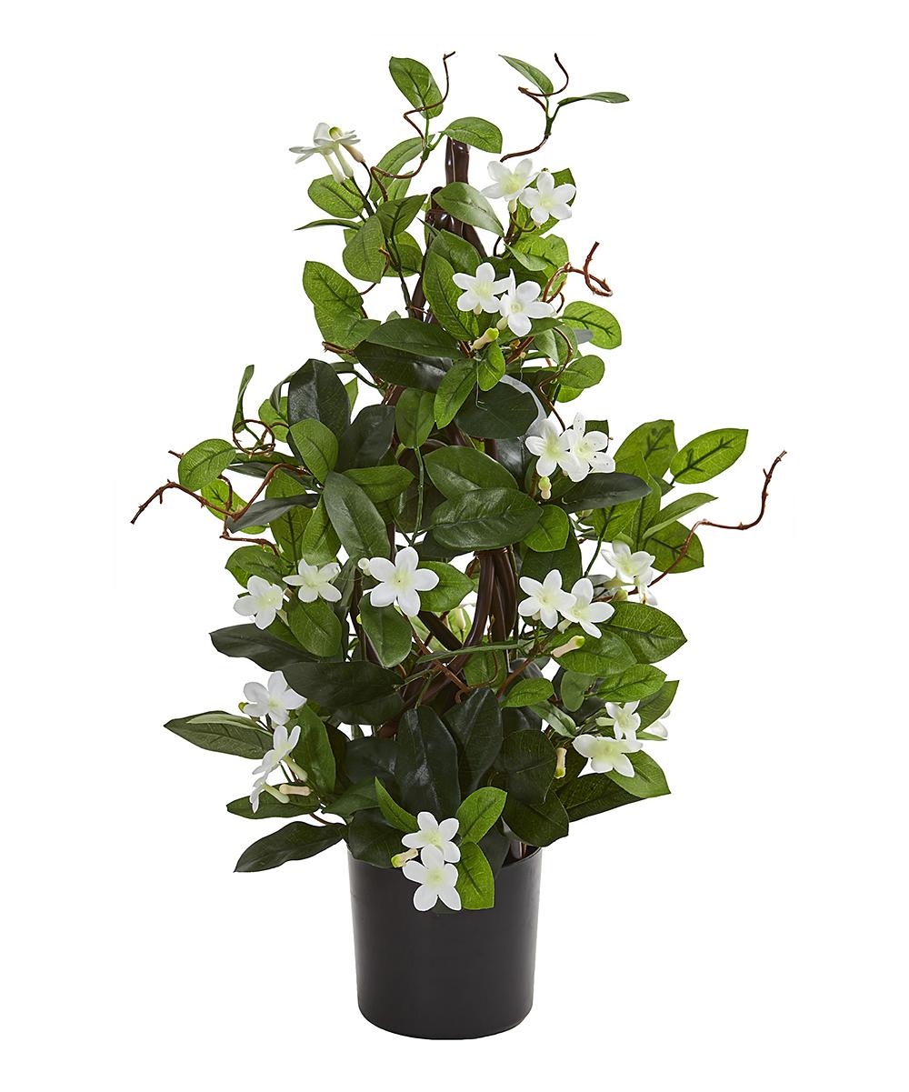 Nearly Natural  Floral  - 24'' Stephanotis Artificial Climbing Plant