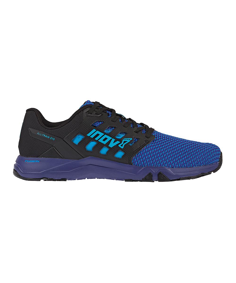 inov-8 Women's Running Shoes Blue/Purple - Blue & Purple All TrainTM 215 Knit Training Shoe - Women