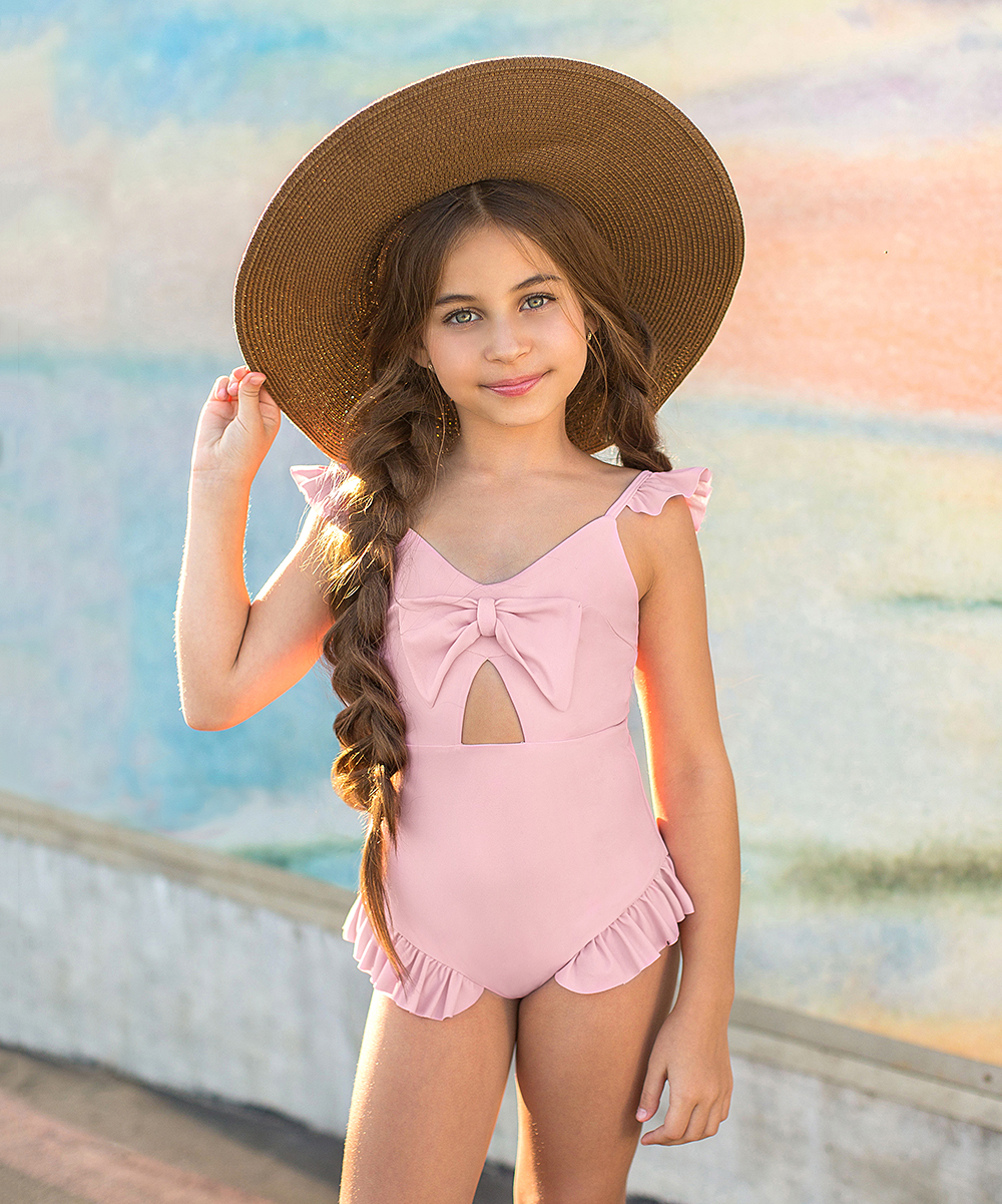 8d6308da3b Joyfolie Blush Marina One-Piece - Toddler & Girls   Zulily