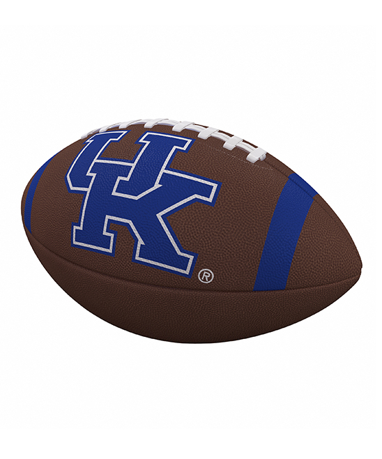Kentucky Team Blue & Brown Stripe Official-Size Football