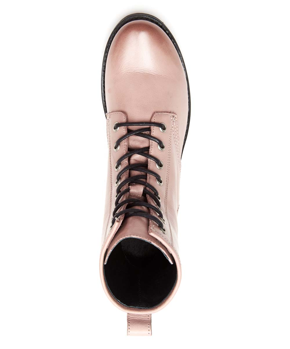 a5671345f4f Frye Lilac Veronica Leather Combat Boot - Women