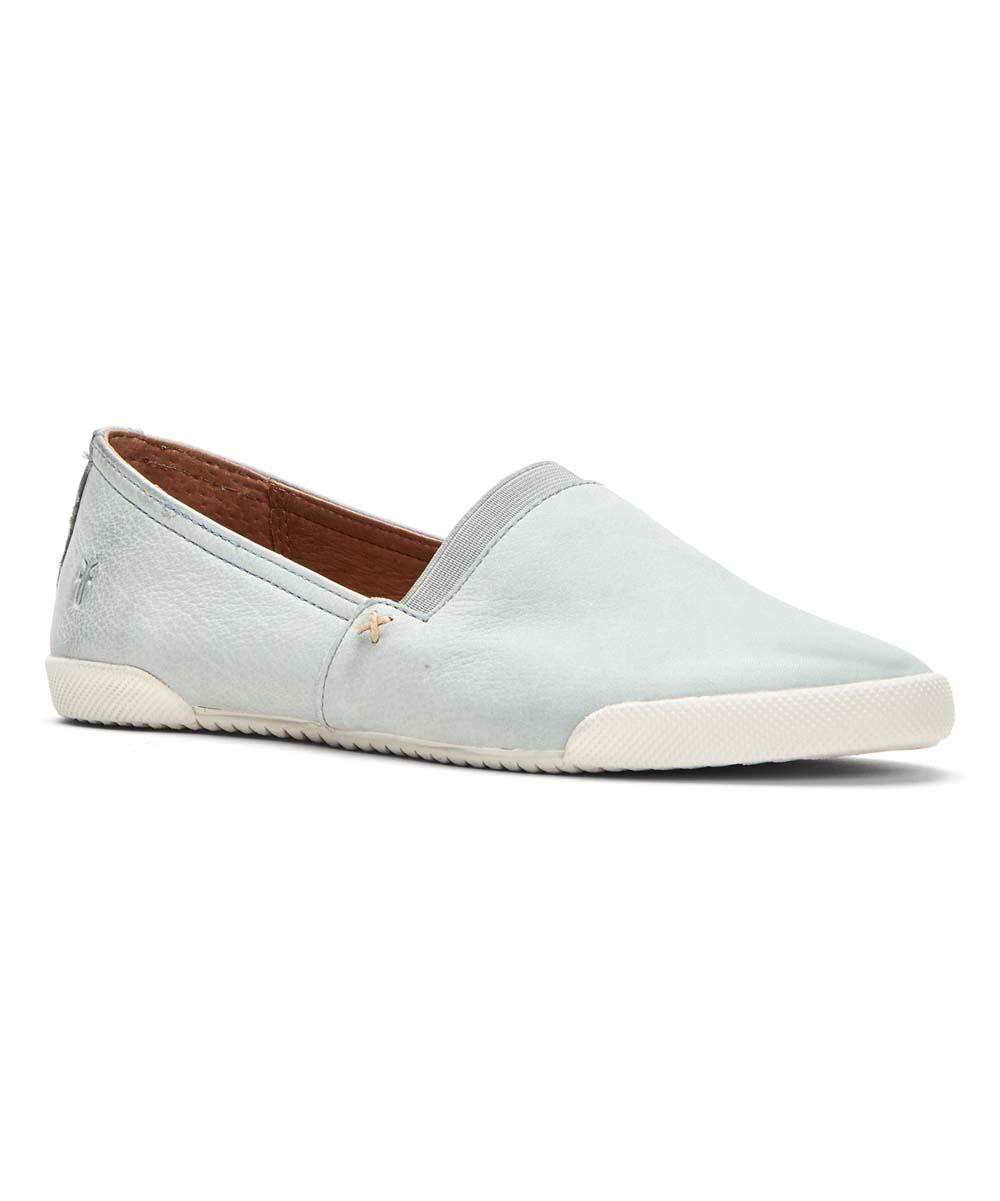 Slip Frye Blue Pale Women On Sneaker Melanie Leather 7IyYbvf6g