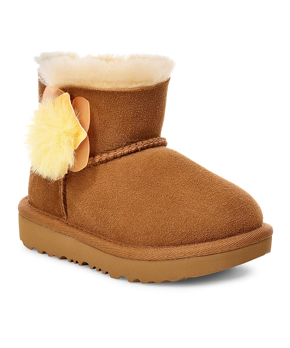 a93f9167f86 UGG® Chestnut Mini Bailey II Cactus Flower Suede Boot - Kids