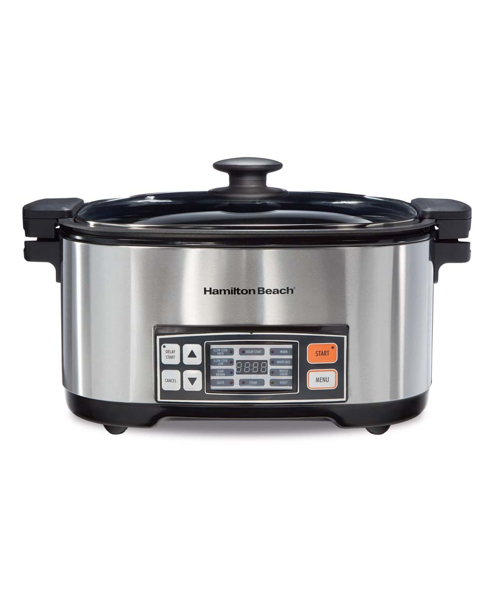 Hamilton Beach  Slow Cookers STAINLESS - Hamilton Beach Multicooker Hamilton Beach Multicooker.    18.25'' W x 10.25'' H x 12.25'' DStainless steelN/aImported