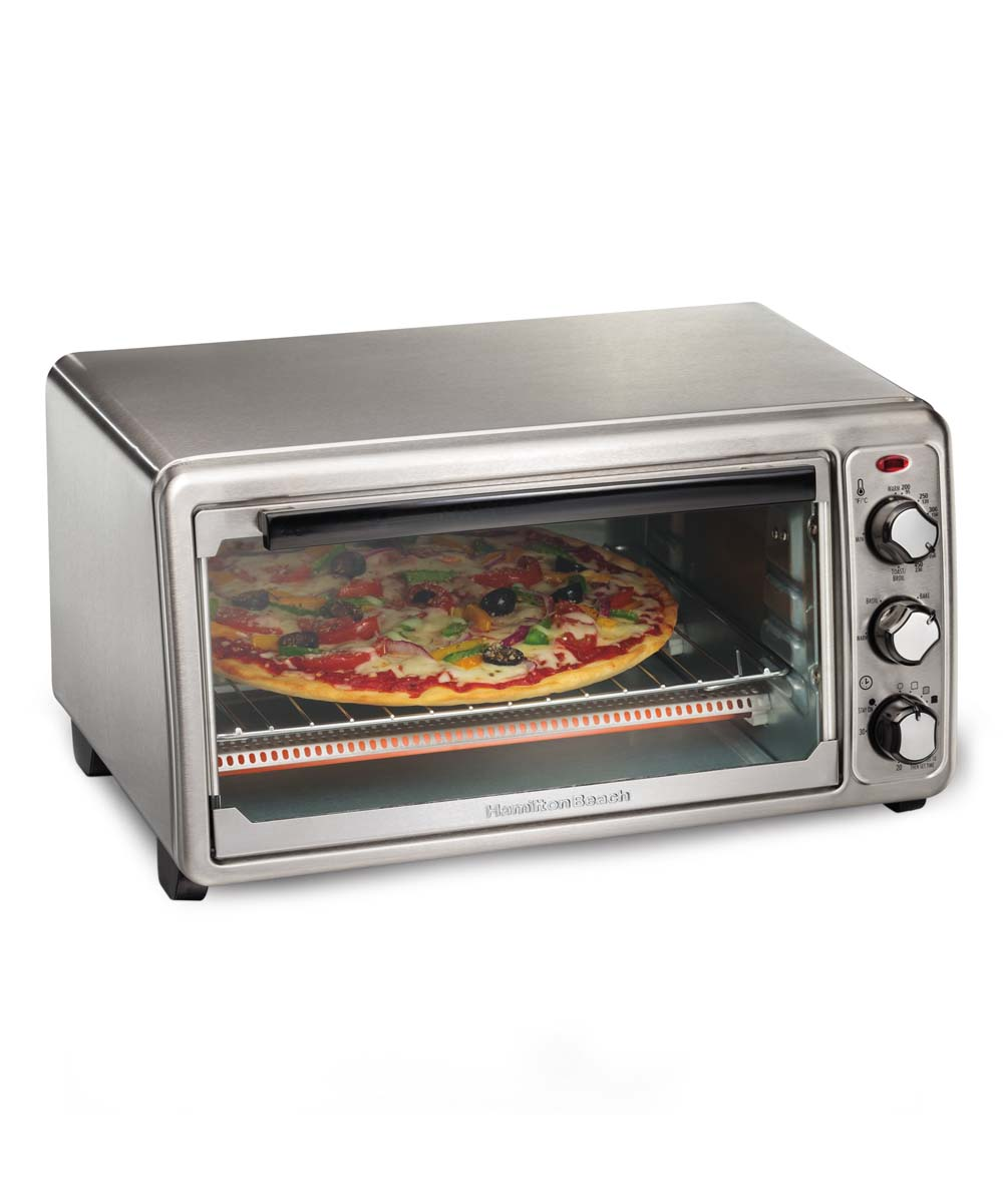 Hamilton Beach  Toaster Ovens STAINLESS - Hamilton Beach Toaster Oven Hamilton Beach Toaster Oven.    19.75'' W x 16.13'' H x 11.5'' DStainless steelN/aImported
