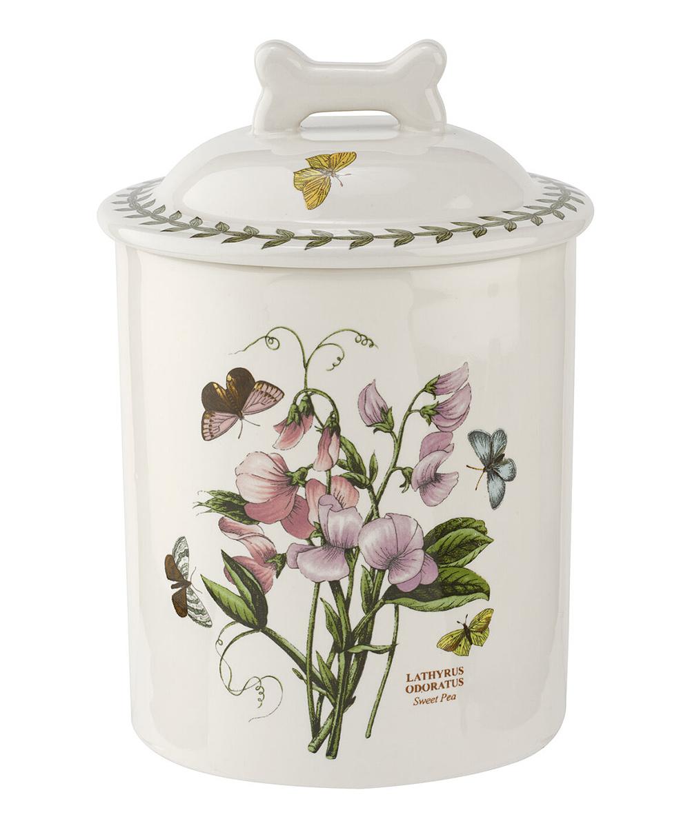 Portmeirion Botanic Garden 7 Inch Treat Jar Sweet Pea