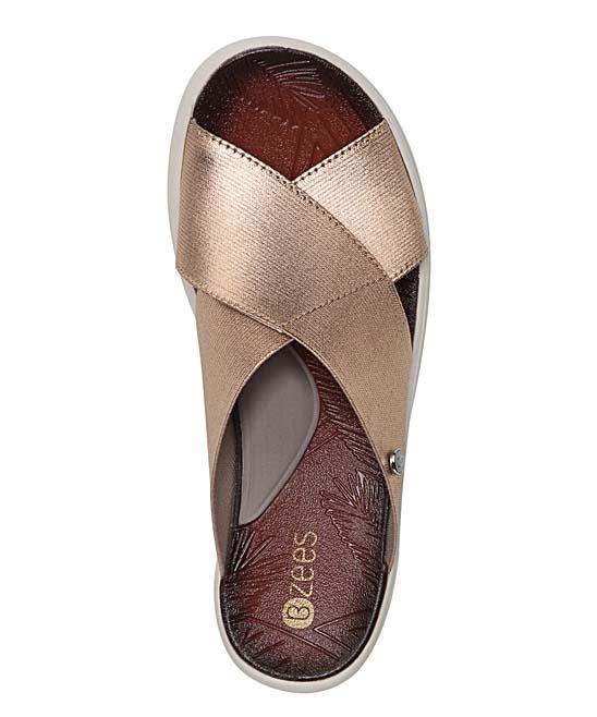 5a689d9daff0 ... Womens GOLD METALLIC Gold Metallic Vista Sandal - Alternate Image 5
