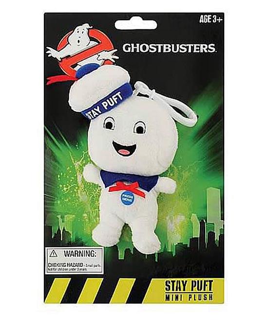 Underground Toys  Stuffed Animals  - Ghostbusters 4'' Happy Marshmallow Man Talking Plush Toy