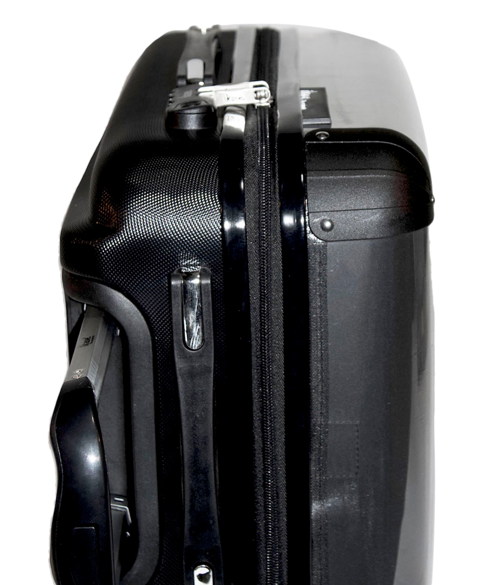 Ikase Hardside Spinner Luggage Lollipops Paris grey