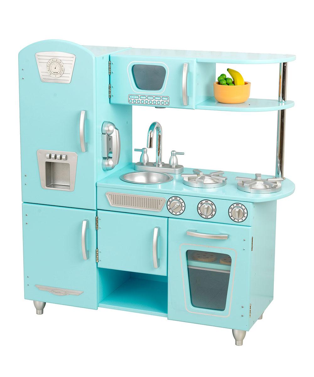 Kidkraft Blue Vintage Play Kitchen Set Zulily