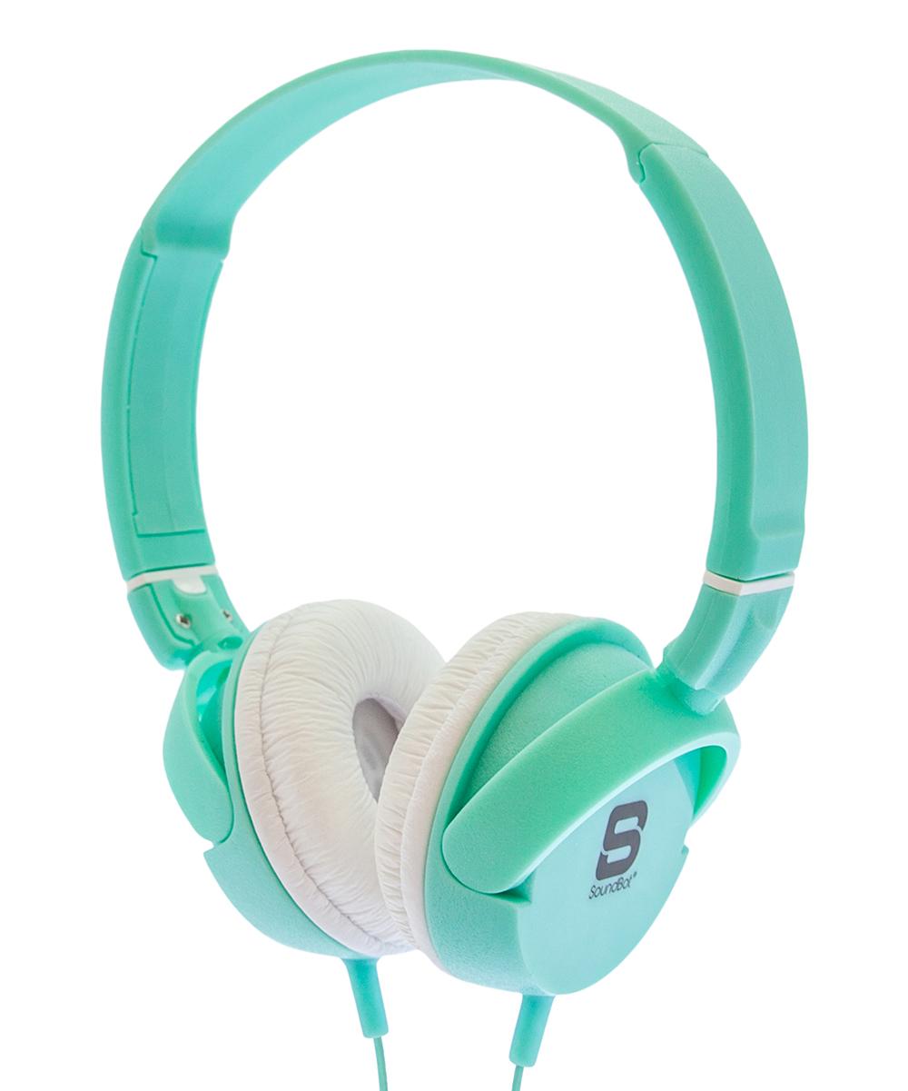 SoundBot Boys' Wired Headphones  - Aqua SB278 Wired Headphones