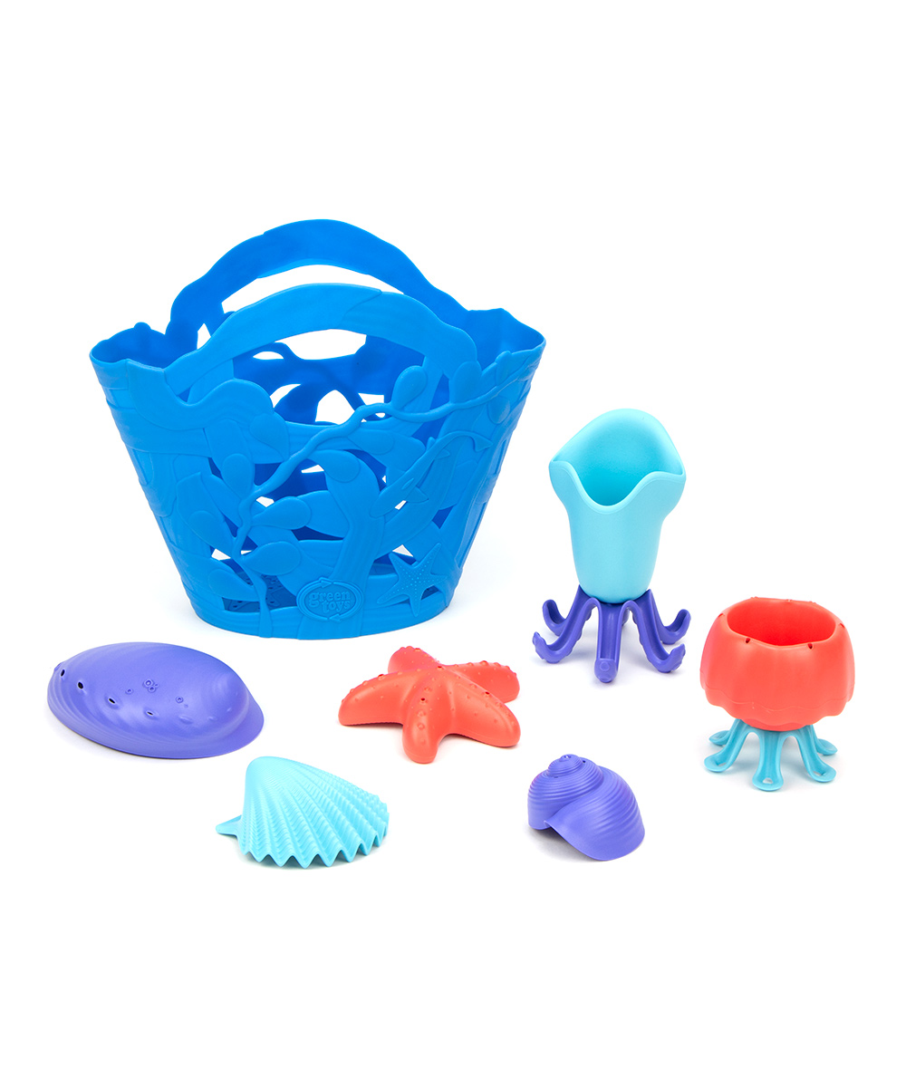 Green Toys  Water toys  - Ocean Bound Tide Pool Set