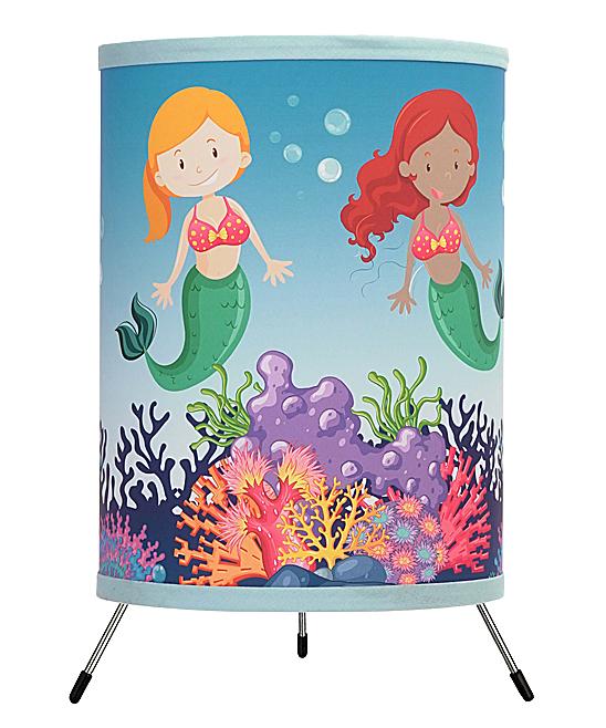 Mermaids Tripod Lamp In A Box