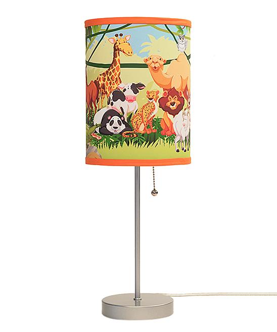 Jungle Animals Lamp In A Box