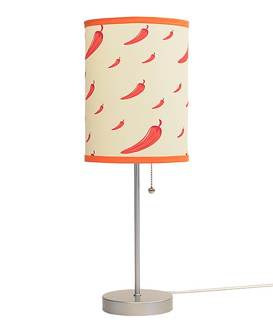 Red Pepper Lamp In A Box