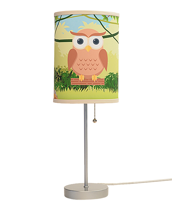 Owl Lamp In A Box