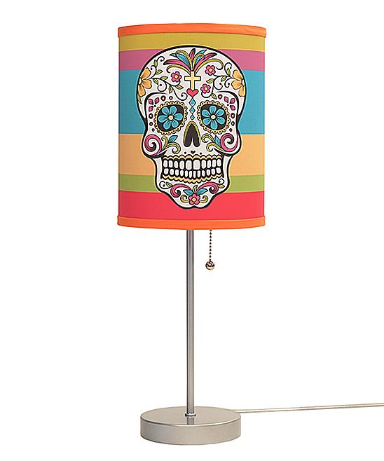 Sugar Skull Lamp In A Box