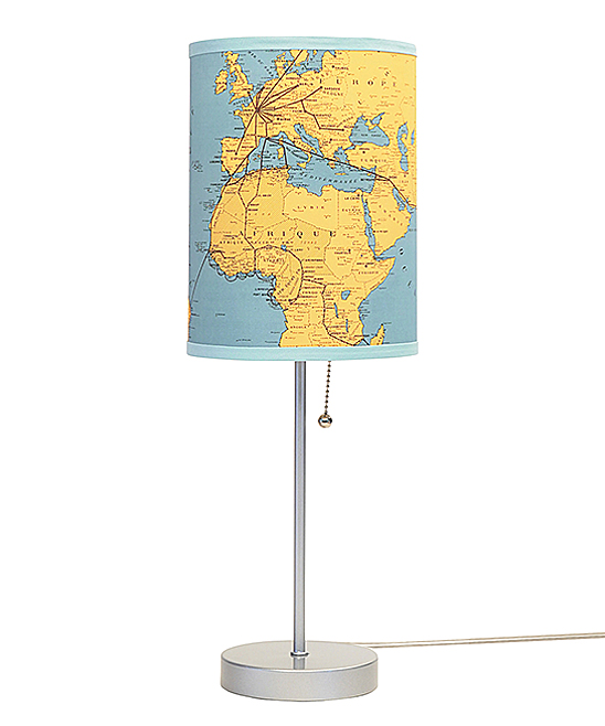 World Map Lamp In A Box