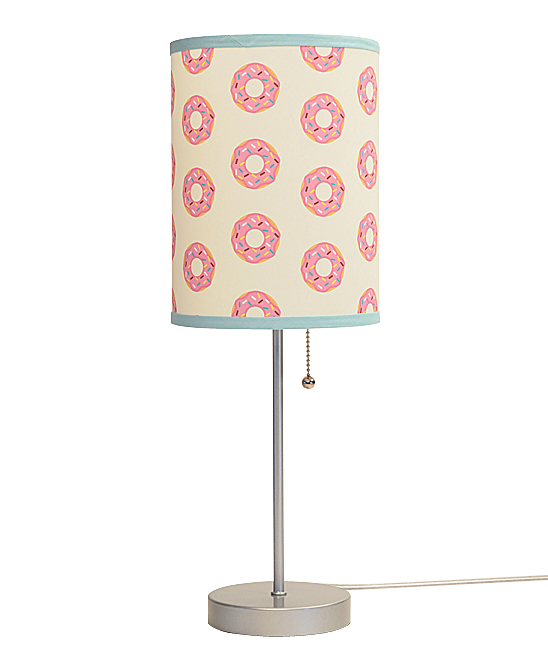 Pink Donut Lamp In A Box