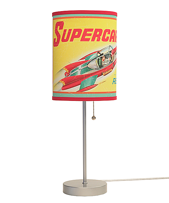 Vintage Supercar Lamp In A Box