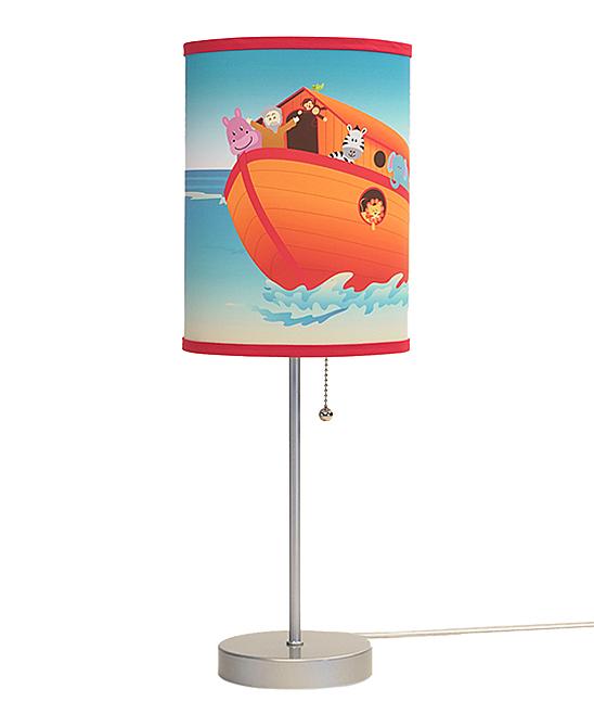 Noah's Ark Lamp In A Box
