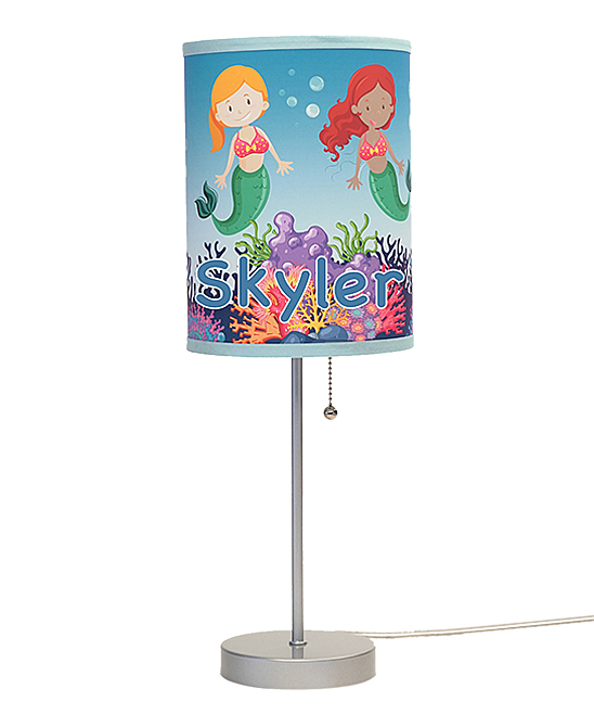 Mermaids Personalized Lamp In A Box