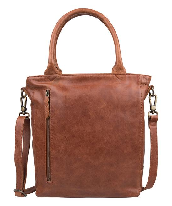 Cowboysbag Women's Handbags Cognac - 11.8'' Cognac Leather Laptop Bag