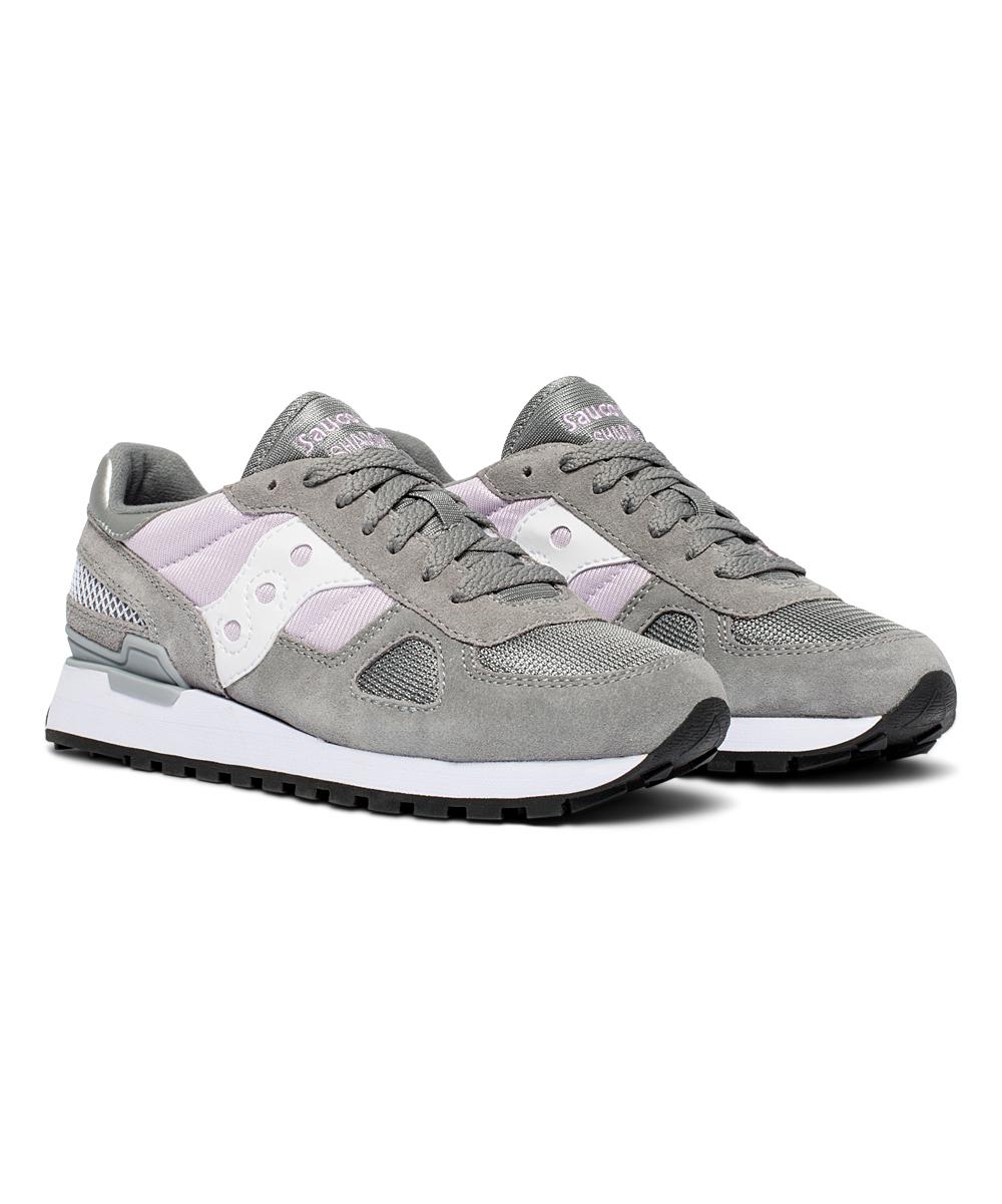 0fcd2c0377ec2 Saucony Gray & Orchid Shadow Original Sneaker - Women