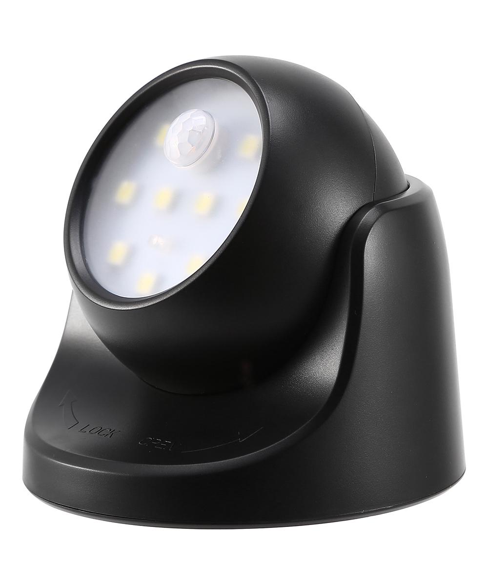 iMounTEK  Smart Sensors Black - Black Motion Sensor LED Light