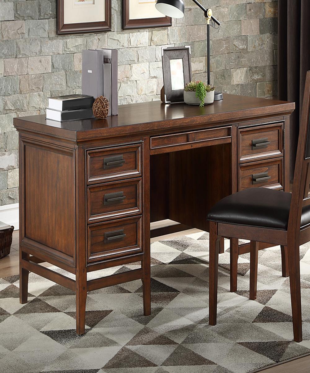 Cherry Finish Executive Desk