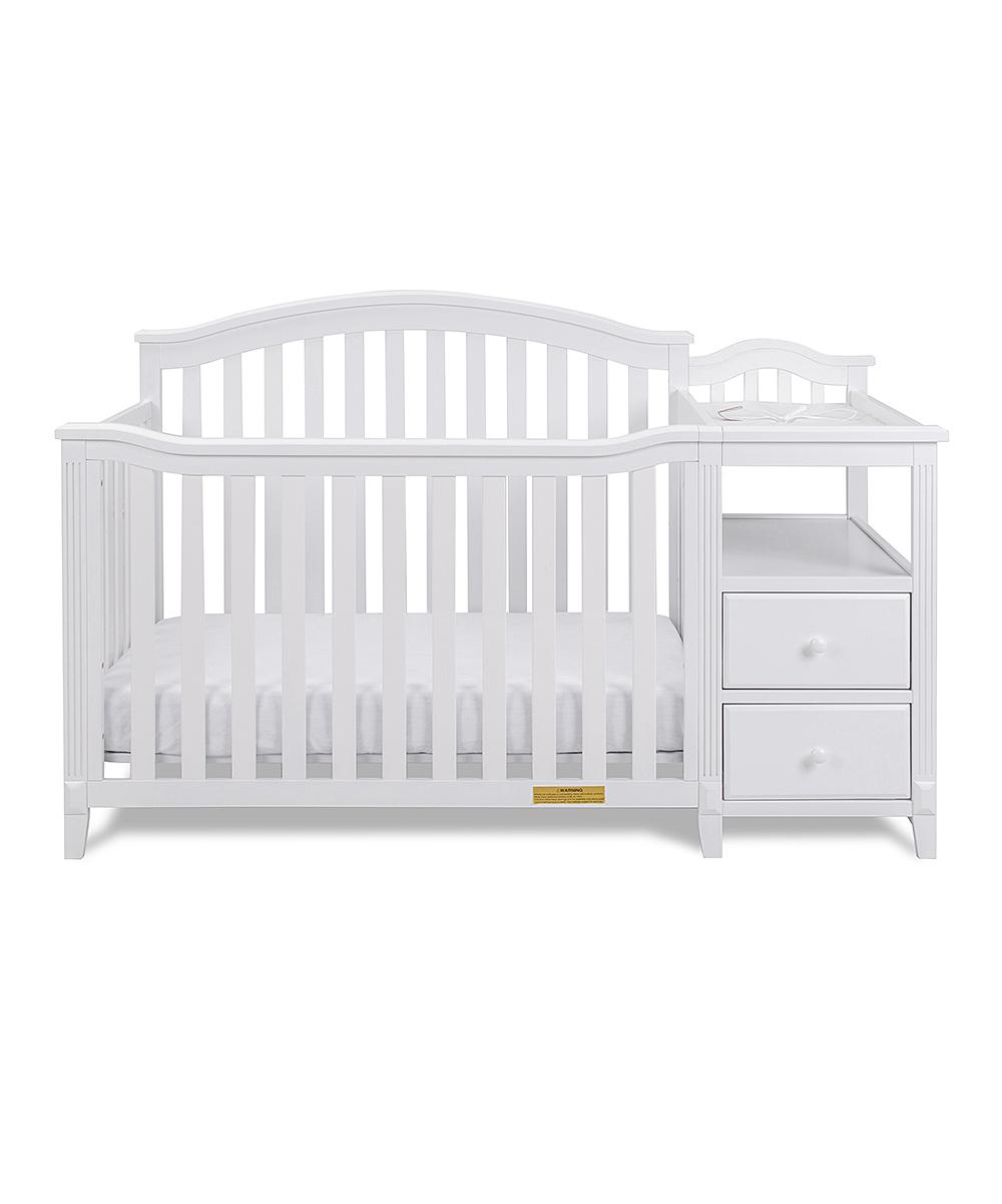 AFG baby furniture  Cribs white - White Kali 4-in-1 Convertible Crib & Changer